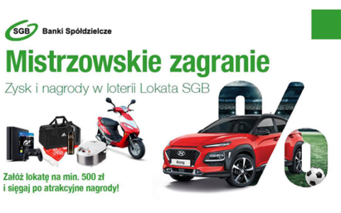 """Wyniki losowania """"Lokata SGB (Wiosna 2018)"""""""